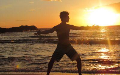 """Path of The Warrior"" Santa Teresa Costa Rica: Qi Gong, Kun Fu and Meditation  JAN 11, 2020"